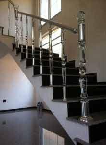 Pleksi korkuluk - pleksi merdiven korkuluk
